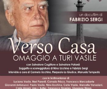 """Spettacoli: """"Verso Casa"""" omaggio a Turi Vasile"""
