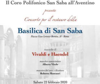 Concerti - Per la riapertura della basilica di San Saba al termine dei lavori di ristrutturazione del tetto