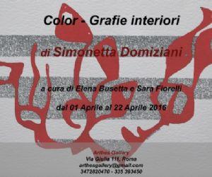Una mostra di Simonetta Domiziani