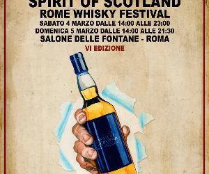 Festival - Sesta edizione di Spirit of Scotland – Rome Whisky Festival