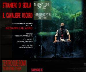 Due spettacoli di e con Giovanni Calcagno