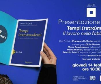 """Per la rassegna #IncontriCollettiva: presentazione di """"Tempi (retro-moderni)"""" di Francesca Re David"""