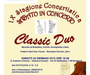 Prosegue la Stagione Concertistica 2014-2015 degli Amici della Musica di Roma