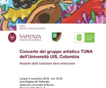 Concerti - Concerto del gruppo colombiano TUNA alla Sapienza
