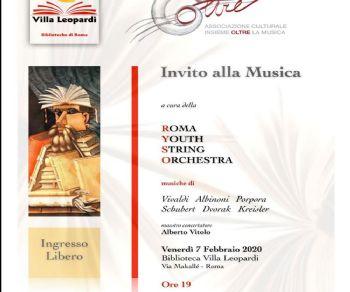 Concerti: Invito alla musica alla Biblioteca Villa Leopardi