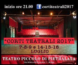 18 compagnie teatrali del territorio romano si esibiranno con performance della durata di massimo 15 minuti