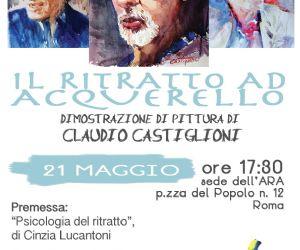 Con il Maestro acquerellista Claudio Castiglioni