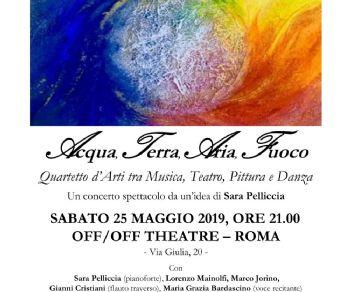 Concerti - Acqua, Terra, Aria, Fuoco
