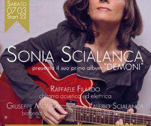 Sonia Scialanca presenta il suo album