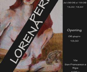 Personale di Lorena Peris
