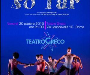 Spettacolo compagnia Ballet-ex al teatro Greco di Roma