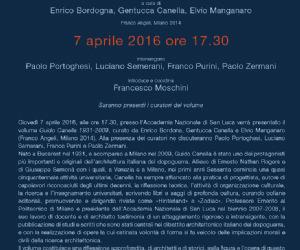 Presentazione del volume curato da Enrico Bordona, Gentucca Canella e Elvio Manganaro