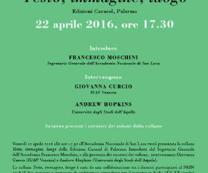 Presentazione della collana della Edizioni Caracol di Palermo