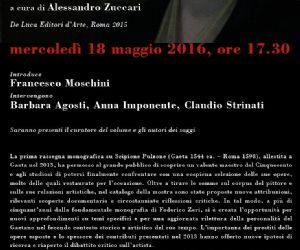 Presentazione del volume curato da Alessandro Zuccari