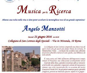 Concerti: Concerto a sostegno della Ricerca dell'Istituto Mario Negri