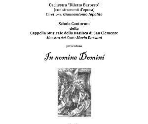 """Concerto dell'Orchestra """"Diletto Barocco"""""""