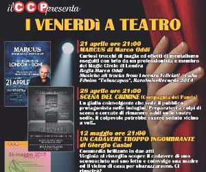 Quattro serate di teatro… ai Venerdi di Aprile e Maggio