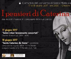 Concerti - I Pensieri di Caterina da Siena