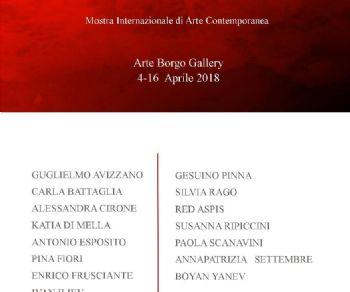 collettiva di artisti internazionali a cura di Anna Isopo presentazione critica Monica Ferrarini