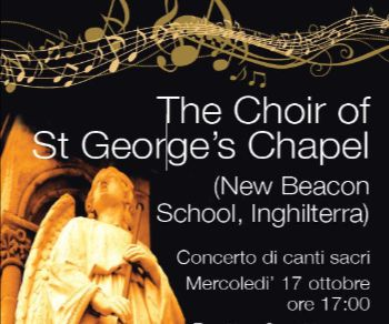 "La Corale inglese ""The Choir of St George's Chapel"" a Roma"