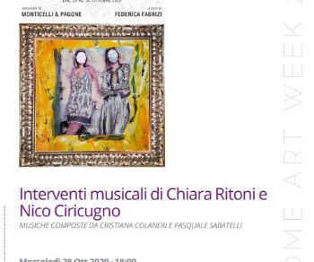 Concerti - Interventi musicali di Chiara Ritoni e Nico Ciricugno