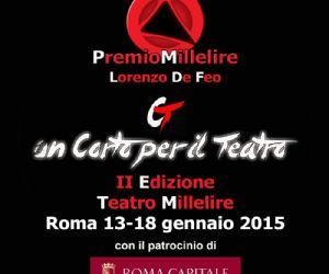 Altri eventi: Premio Millelire - Lorenzo De Feo