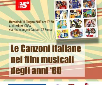 Altri eventi - Le Canzoni italiane nei film musicali degli anni '60