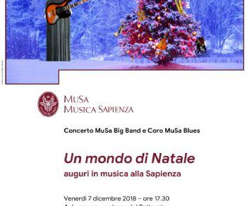 MuSa Big Band e il Coro MuSa Blues in concerto