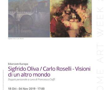 Mostre - Oliva / Roselli - Visioni di un altro mondo