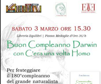 Un pomeriggio dedicato a Darwin e all'evoluzione umana