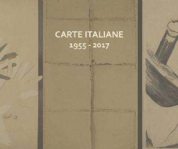 Mostra collettiva che propone che ripercorre l'evoluzione del supporto artistico cartaceo e le sue molteplici declinazioni nell'arte italiana dagli anni Cinquanta ad oggi