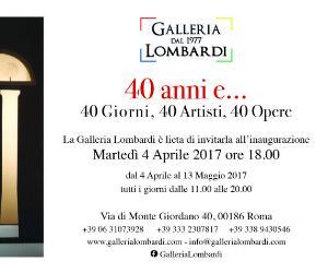 Gallerie - 40 anni e...