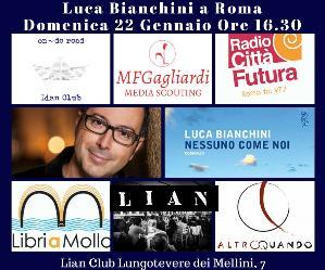 Libri: Luca Bianchini a OnDe Read