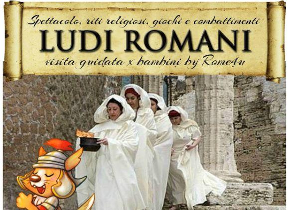 Bambini e famiglie: I Ludi e le Festività romane spiegate ai bambini