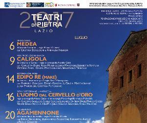Rassegne - Teatri di Pietra Lazio 2017