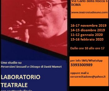 Workshop intensivo al Teatro Studio Uno