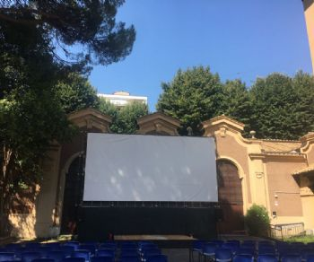 Oltre 60 giorni di proiezioni nel cortile dello storico liceo romano