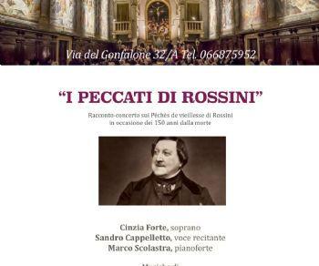 Concerti - I Peccati di Rossini