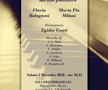 Concerti - Flavia Bolognesi Maria Pia Milani