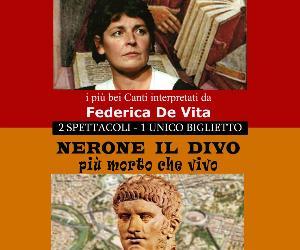 Spettacoli: L'Inferno di Dante/Nerone il Divo