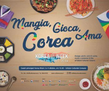 Rassegne - Korea Week