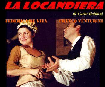 Locandina: La locandiera di Carlo Goldoni