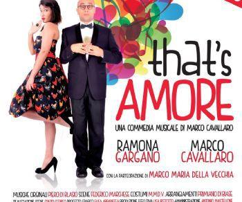 Una commedia musicale di Marco Cavallaro
