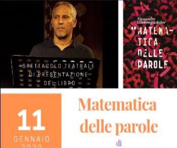 Libri: Spettacolo 'Matematica delle parole'