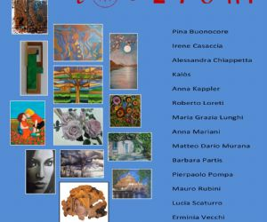 Mostra di arti visive. Piccoli quadri come tessere di un'unica e suggestiva opera d'arte