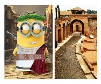 Bambini - Mercati di Traiano, Casa dei Cavalieri di Rodi e Torre delle Milizie