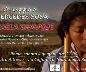 Micaela Chauque ad Altrevie