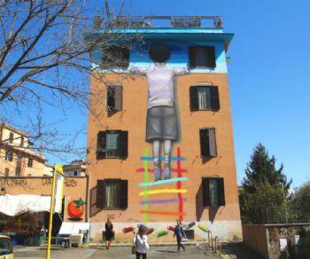 Visite guidate - La street art a Tor Marancia