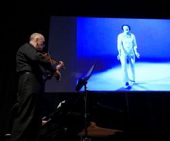 """Una Conferenza sul teatro gestuale e la presentazione del libro """"Marcel Marceau poetics of gesture"""" di Patrizia Iovine"""