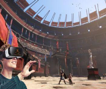 Visita guidata con archeologo con visore di realtà aumentata